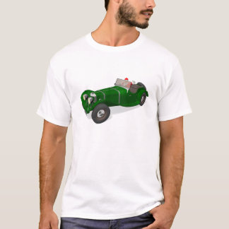 Santa Claus Happy Jaguar SS 90 Driver T-Shirt