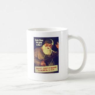 """""""Santa Claus has gone to War!"""" Coffee Mug"""