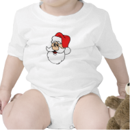 Santa Claus Head Tshirt