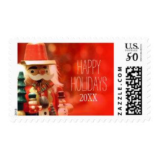 Santa Claus' helper Postage