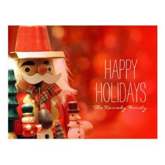 Santa Claus' helper Postcard