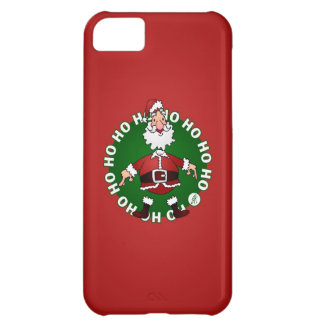 Santa Claus Ho Ho Ho Case For iPhone 5C