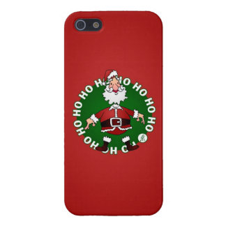 Santa Claus Ho Ho Ho Case For iPhone SE/5/5s