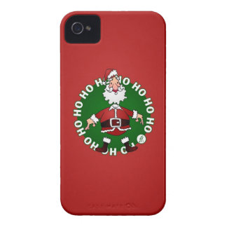 Santa Claus Ho Ho Ho iPhone 4 Case