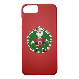 Santa Claus Ho Ho Ho iPhone 7 Case