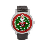 Santa Claus Ho Ho Ho Wrist Watch
