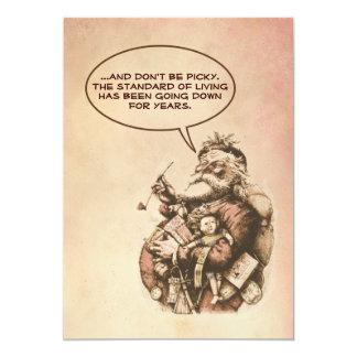 Santa Claus Humor Card