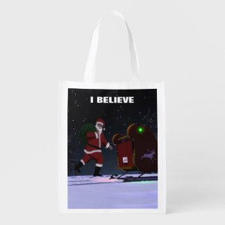 Santa Claus - I Believe Market Tote