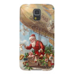 Santa Claus in Airship Cases For Galaxy S5