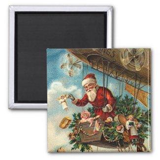 Santa Claus in Airship