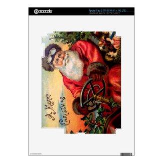 Santa Claus in Automobile