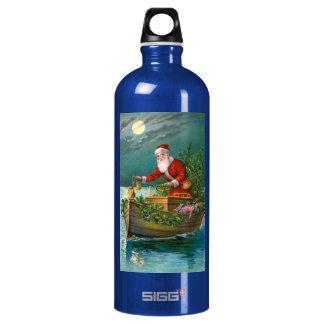 Santa Claus in Boat SIGG Traveler 1.0L Water Bottle