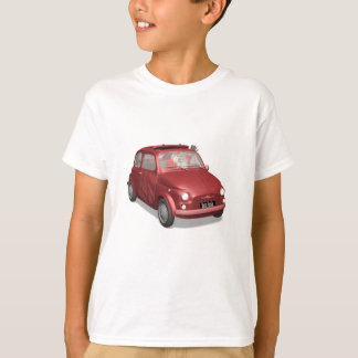 Santa Claus In Fiat 500 T-Shirt