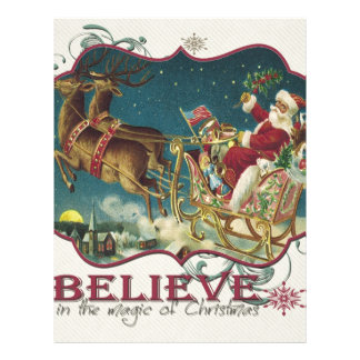 Santa Claus in Flying Sleigh.jpg Letterhead