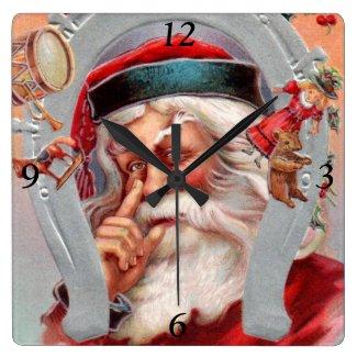Santa Claus in Horseshoe