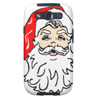 Santa Claus in Red Hat Samsung Galaxy SIII Cover
