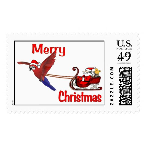Santa Claus is Coming to Town Postage
