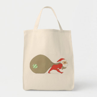 Santa Claus is Coming To Town TOTE Grocery Tote Bag