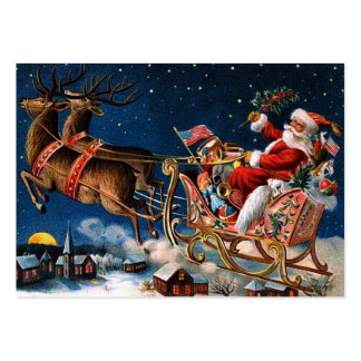 Santa Claus is Comming to Town Large Business Cards (Pack Of 100)