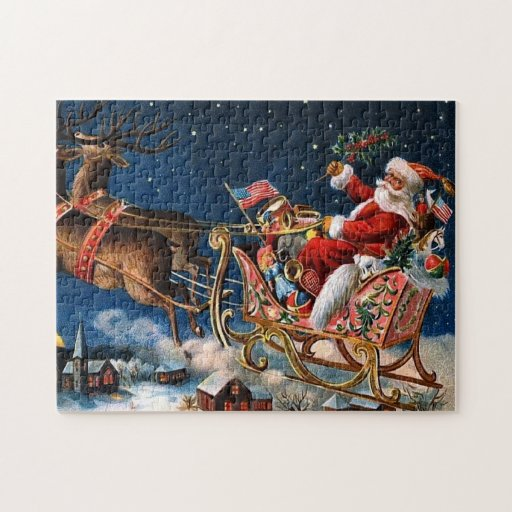 Santa Claus is Comming to Town Puzzles
