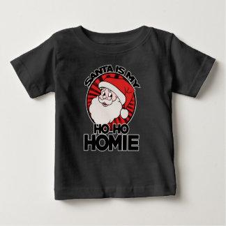 Santa claus is my ho ho homie t-shirt