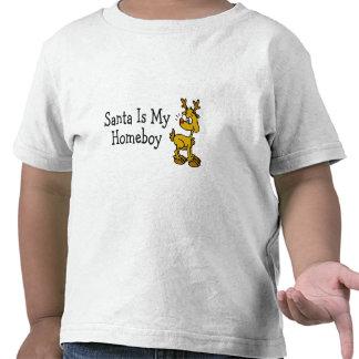 Santa Claus Is My Homeboy Rudolph Shirts
