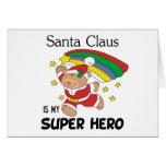Santa Claus is My Superhero Christmas Card