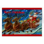santa-claus-is-sending-gifts greeting cards
