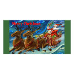 santa-claus-is-sending-gifts picture card