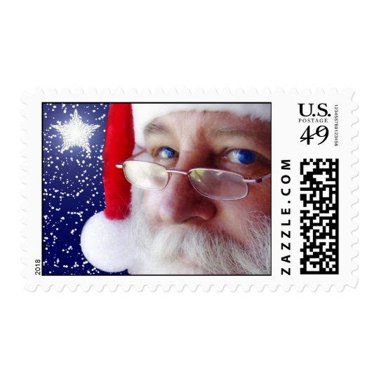 Santa Claus is Watching You 2 Postage