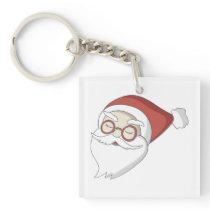 Santa Claus Keychain