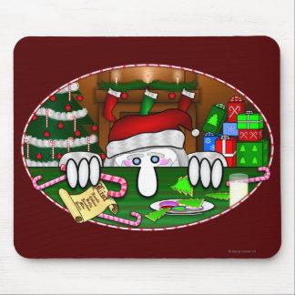 Santa Claus Kilroy Mousepad