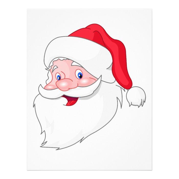 Santa Claus Letterhead Template on PopScreen