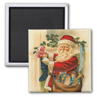 Santa Claus Magnet for the Holidays