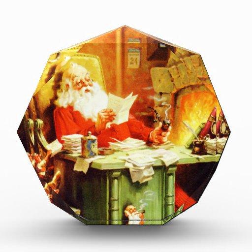 Santa Claus Making His List, Checking it Twice Awards