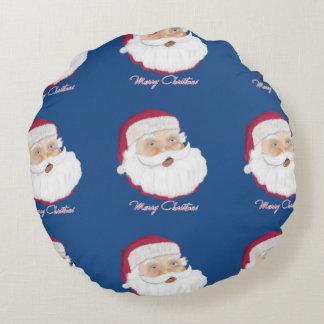 Santa Claus Round Pillow