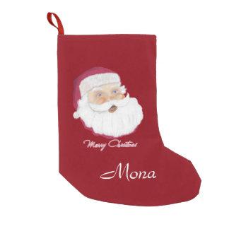 Santa Claus Small Christmas Stocking