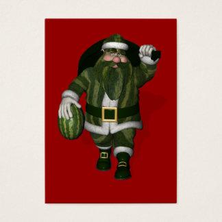 Santa Claus Melon Farmer Business Card