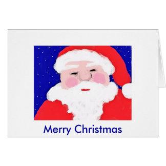 santa claus, Merry Christmas Card