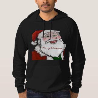 Santa Claus Merry Christmas Hoodie