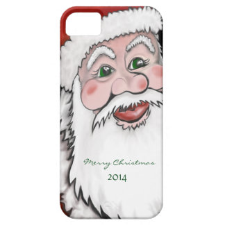 Santa Claus Merry Christmas iPhone Case