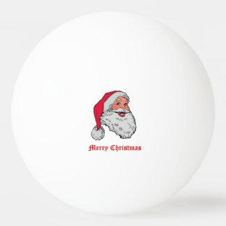 Santa Claus Merry Christmas Ping Pong Ball