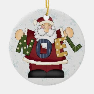 Santa Claus Noel Christmas Ornament