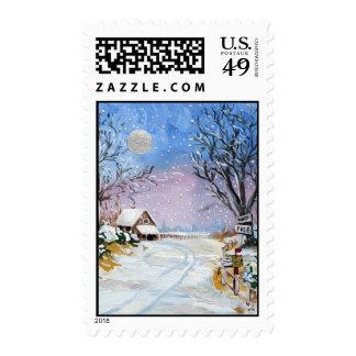Santa Claus North Pole Postage