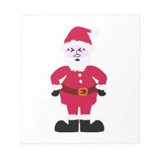 Santa Claus Notepad
