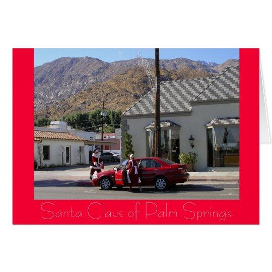 Santa Claus of Palm Springs Card