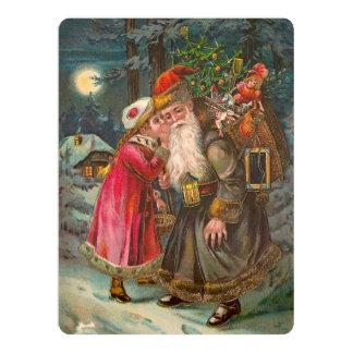 Santa Claus On His Way 1 Card