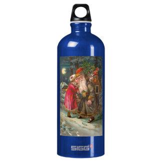Santa Claus On His Way 1 SIGG Traveler 1.0L Water Bottle