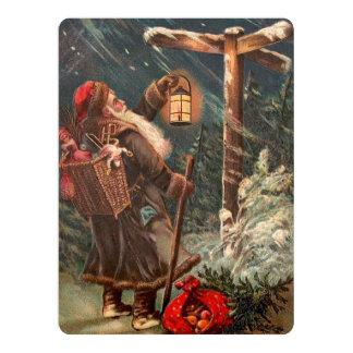 Santa Claus On His Way 2 Card