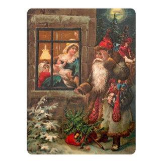 Santa Claus On His Way 4 Card